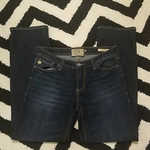 Dear John playback comfort straight dark jeans